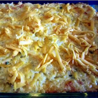Grandma's Cheesy Potato Casserole.
