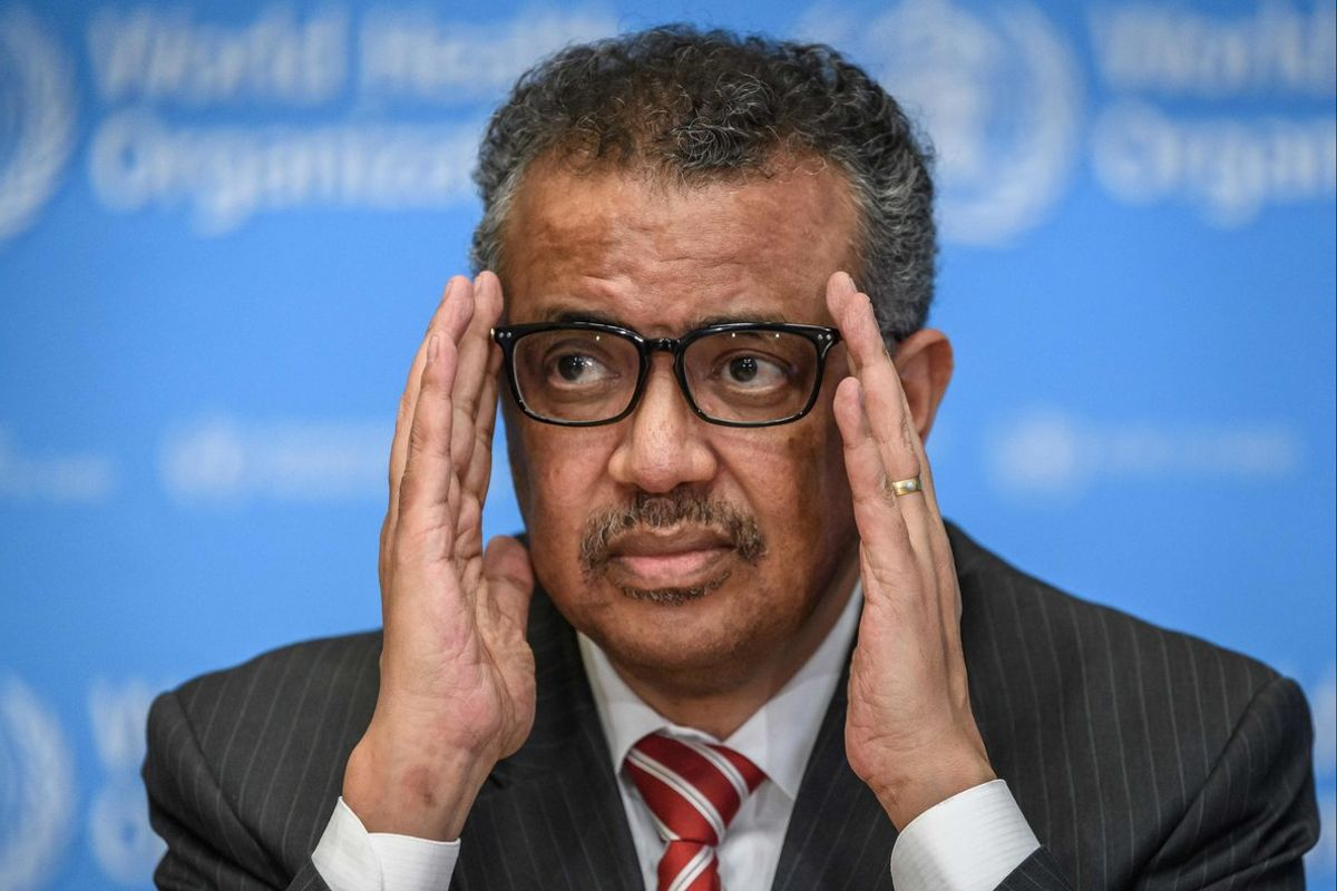 Dr Tedros Adhanom Ghebreyesus struggles to keep the relevance of the WHO afloat.