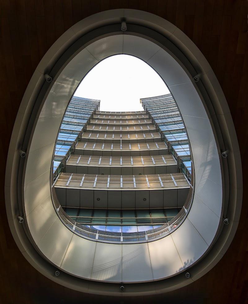 Piazza Gae Aulenti Milano di Albertino