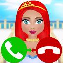 princess call simulation game APK