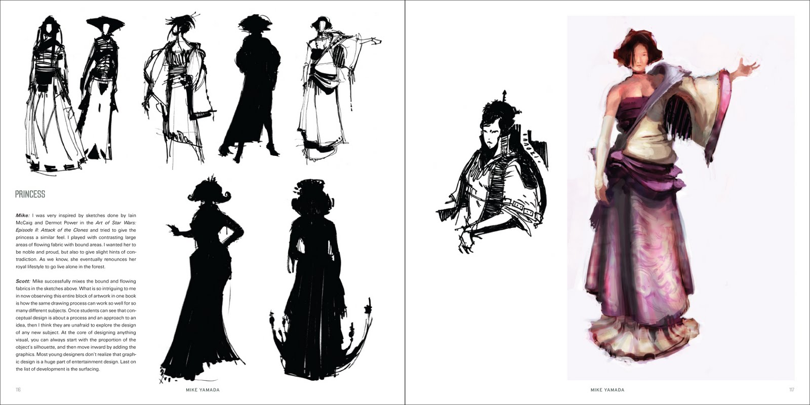 Character Design Silhouettes