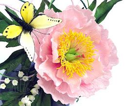Photo: Zuckerblüten und Zucker Schmetterling
