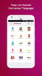 dittoTV: Live TV shows channel Screenshot