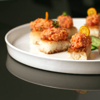 Spicy Tuna on Crispy Rice.