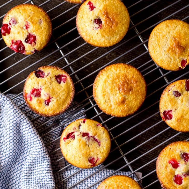 Cranberry Corn Muffins Recipe