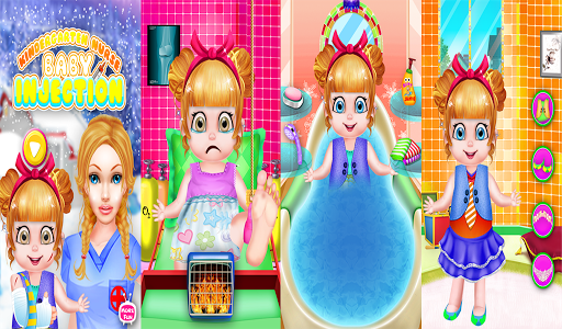 無料休闲Appのベビー注射女の子のゲーム 記事Game