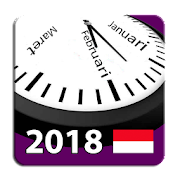Indonesia 2018 National Holidays Calendar