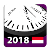 Indonesia 2018 National Holidays Calendar