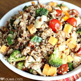 MultiGrain Medley Veggie Salad