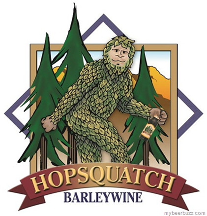 Logo of Four Peaks Hopsquatch Barleywine