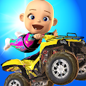 Baby Quad Bike Stunt - ATV Fun icon