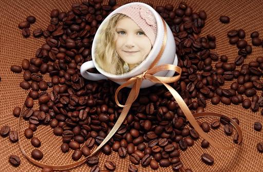 Coffee Cup Photo Frame