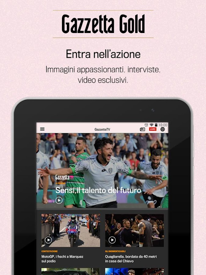 Gazzetta Gold- screenshot