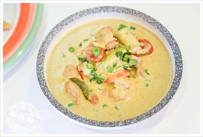 PAPAYA泰-泰式料理辛香綠咖哩雞肉
