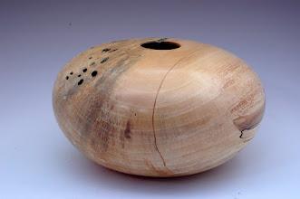"""Photo: Eliot Feldman - Hollow Vessel - 5"""" x 9"""" - Norway Maple"""