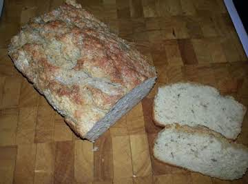 Easy Rosemary Beer Bread