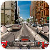 Motorcycle Racer City Driving