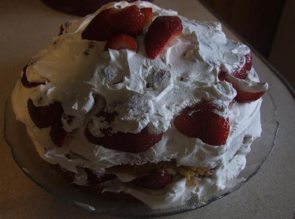 Strawberry Celebration Cake Recipe
