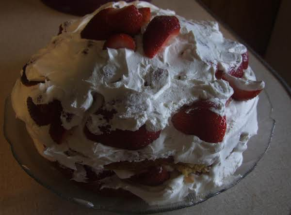 Strawberry Celebration Cake Recipe