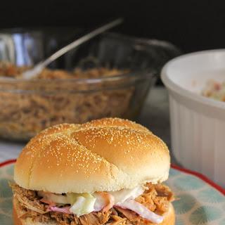 Shredded Pork & Spicy Slaw Sandwiches