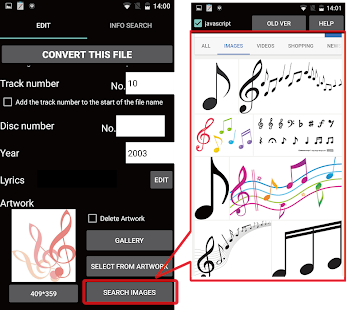 TK Music Tag Editor -Complete- Screenshot