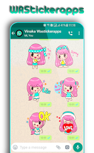 WAStickerApps: Girly Stickers for PC-Windows 7,8,10 and Mac apk screenshot 3