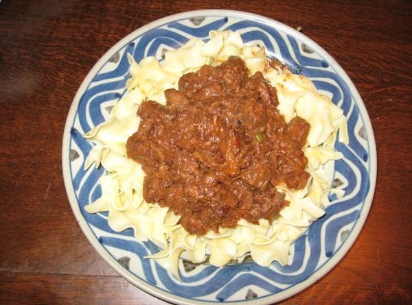 Dutch's Easy-easy Hungarian Goulash Recipe
