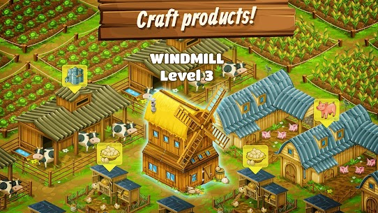 Big Farm: Mobile Harvest – Free Farming Game 3