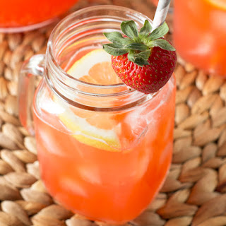 Vodka Strawberry Lemonade.
