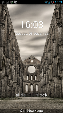 android GO Locker Theme Epic Castle Screenshot 1
