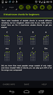 Pocket Ukulele Chords- screenshot thumbnail
