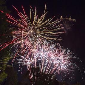 Dazzle by Madhujith Venkatakrishna - Abstract Fire & Fireworks