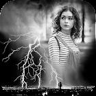 Black & White Photo Frame icon