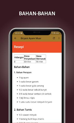 Resepi Juadah Raya screenshot 4