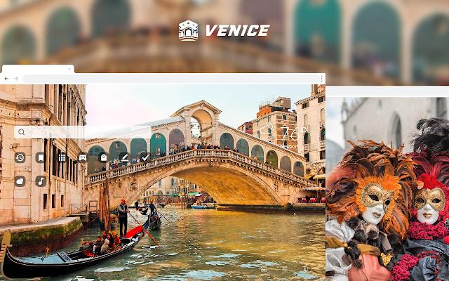 Venice HD Wallpaper Theme New Tab