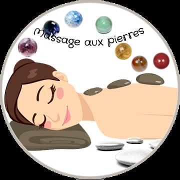 Massage bien-être aux pierres chaudes