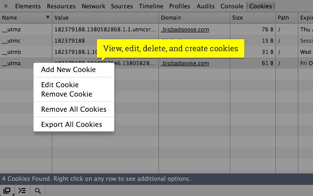 Cookie Inspector