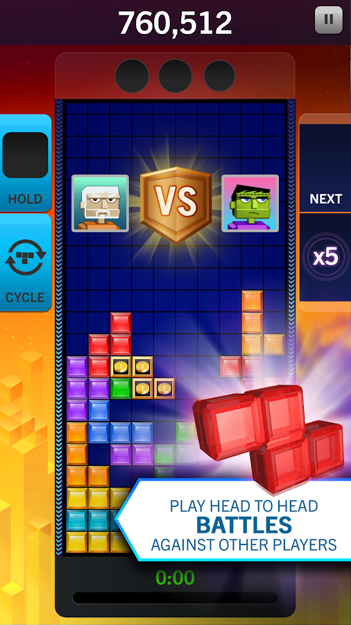 TETRIS Blitz- screenshot