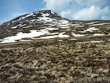 Photo: Moving across the tundra the the rocky slopes.