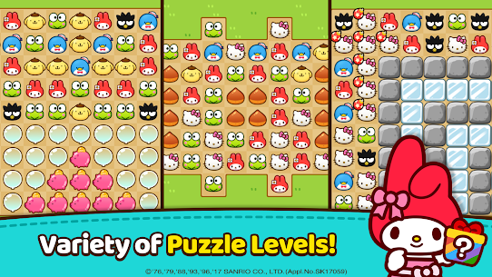 Hello Kitty Friends – Tap & Pop, Adorable Puzzles 7