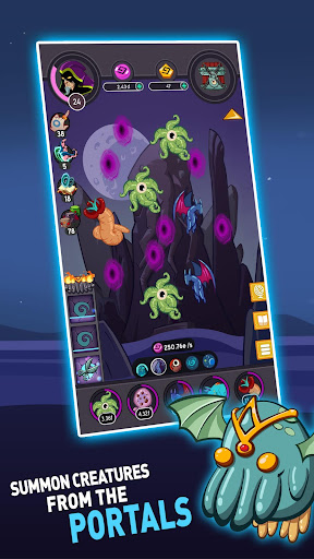 Tap Temple: Monster Clicker Idle Game apkmr screenshots 3