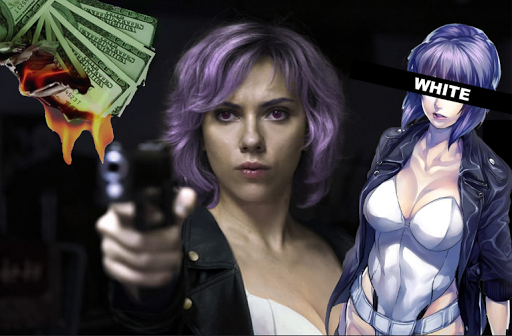La película de Ghost in the Shell es oficialmente un fracaso!