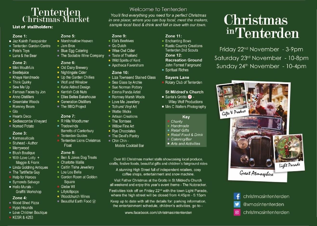 Tenterden Christmas Market 2019