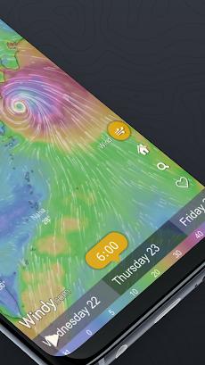 Windy.com - 風、波とハリケーン予測のおすすめ画像2