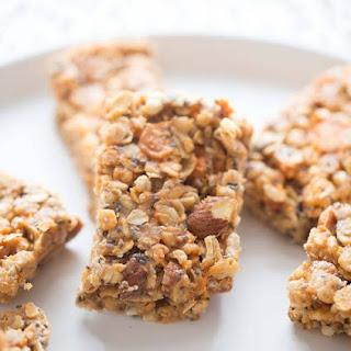 Peanut Butter & Salted Caramel Granola Bar