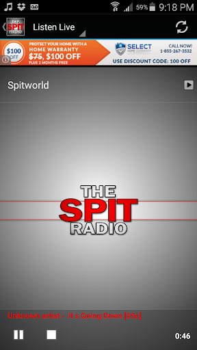 The Spit Radio  screenshots 2