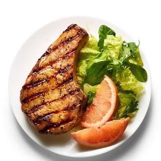 Grapefruit-Glazed Pork Chops