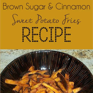 Cinnamon Brown Sugar Sweet Potato Fries.