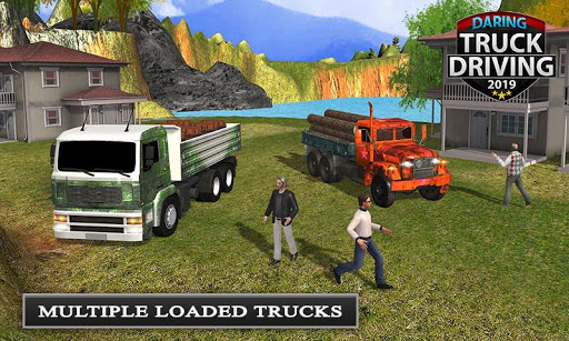 Offroad Transport Truck Driving - Jeep Driver 2019  screenshots 5
