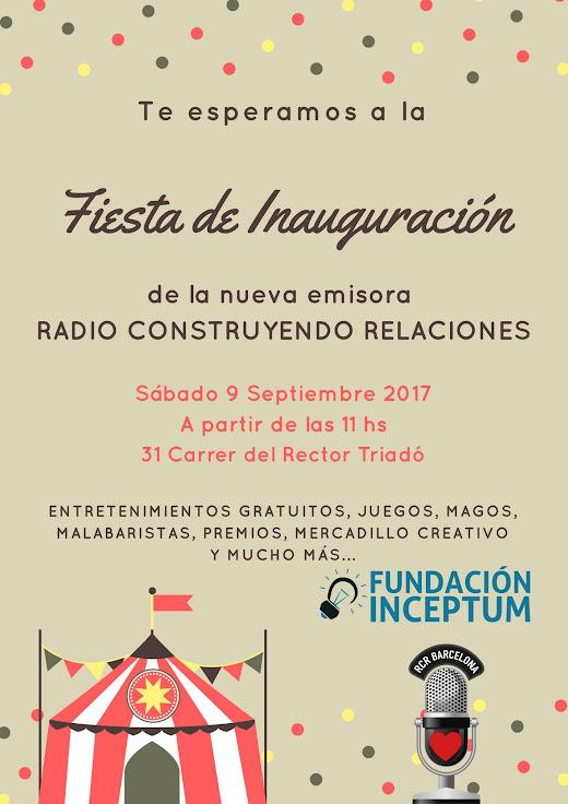 Inauguración Radio Construyendo Relaciones